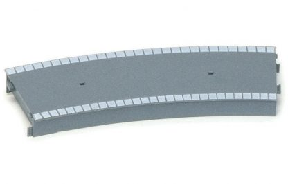 Hornby Large Radius Curved Platform Section (Plastic)