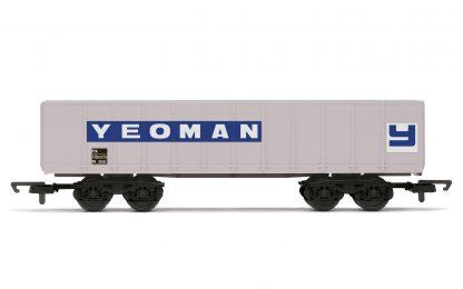 RailRoad Yeoman Aggregates, PTA 102T Bogie Tippler Wagon - Era 8