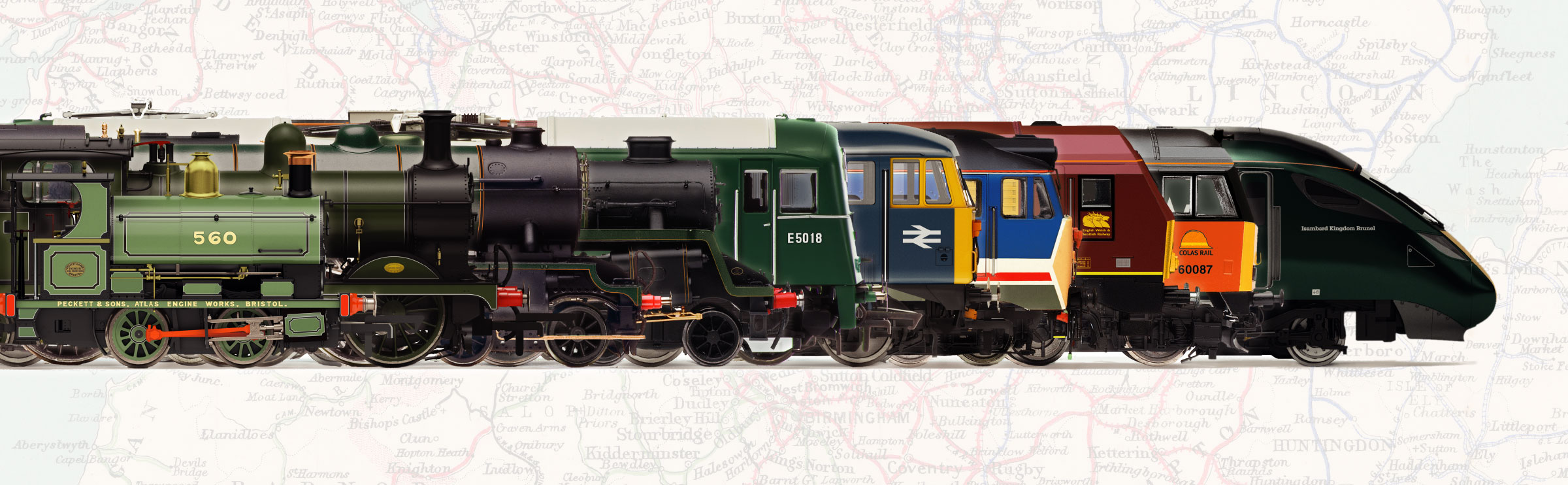The Hornby Model Railway Era system