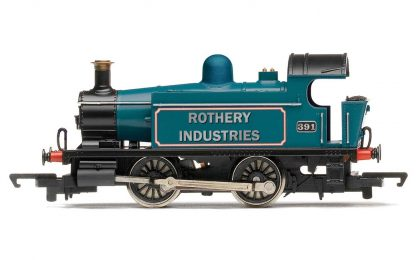 RailRoad, Rothery Industries, Ex-GWR 101 Class, 0-4-0T, 391 - Era 4/5