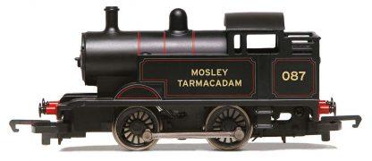 RailRoad, Mosley Tarmacadam, Ex-Industrial, 0-4-0T, No. 087 - Era 2/3