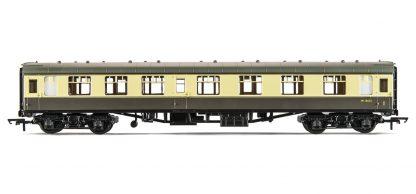 RailRoad BR Mk1 Corridor Composite Coach - BR Chocolate & Cream