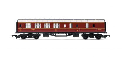 RailRoad, LMS, Brake Third Coach - Era 3