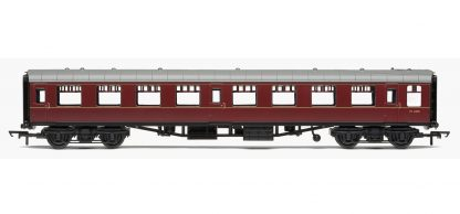 RailRoad, BR, Mk.1 Tourist Second Open Coach, BR Maroon - Era 5