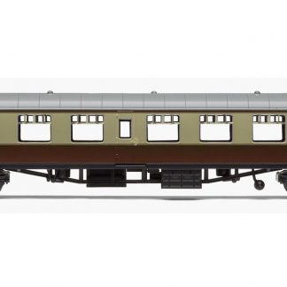 RailRoad, BR, Mk.1 Tourist Second Open Coach, BR Chocolate & Cream - Era 4