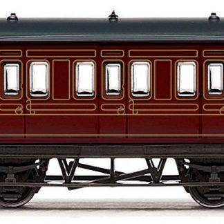 RailRoad, LMS, 4 wheel Coach - Era 3