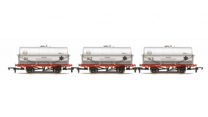 RailRoad, 20T Tank Wagons, three pack, ICI - Era 3/4