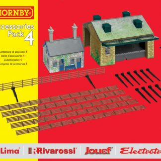 Hornby TrakMat Accessories & Building Pack 4