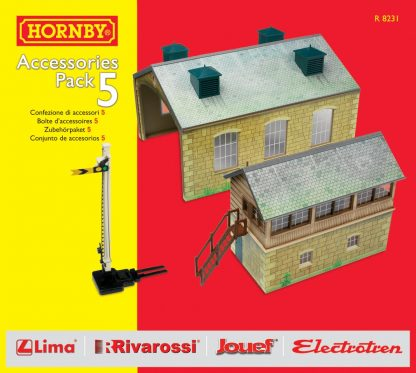 Hornby TrakMat Accessories & Building Pack 5