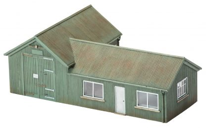Hornby Skaledale Corrugated Iron Workshop