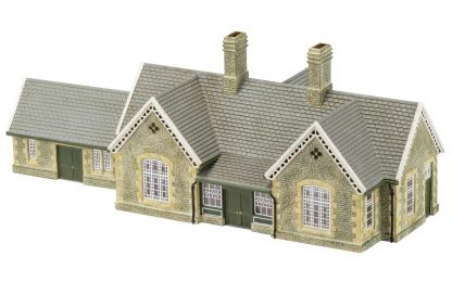 Hornby Skaledale Granite Station Building & Waiting Room Pack