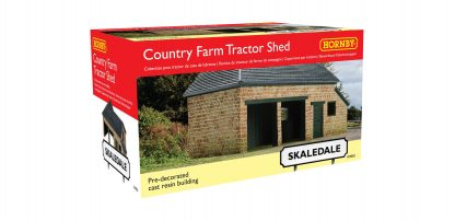 Hornby The Country Farm Tractor/Plough Shed
