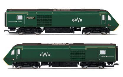 Hornby GWR, Class 43 HST, 'Meningitis Trust Support for Life' Train Pack - Era 11