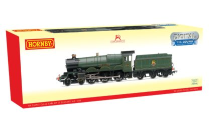 Hornby BR, Castle Class, 4-6-0, 5050 'Earl of St. Germans' Early BR with TTS Sound - Era 4