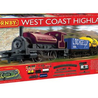 Hornby West Coast Highlander Train Set
