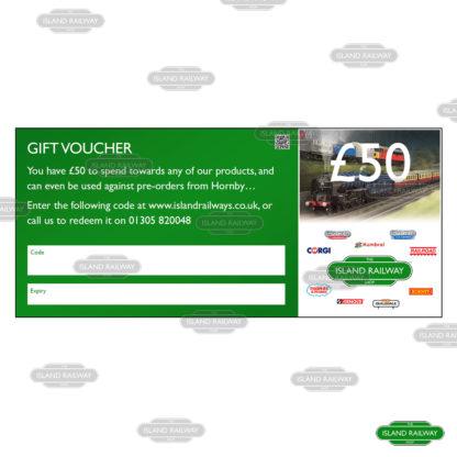 Gift voucher (£50)