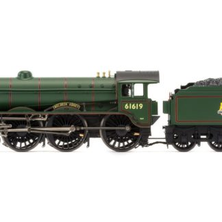 Hornby BR, B17/4 Class, 4-6-0, 61619 'Welbeck Abbey' Early BR Steam Locomotive - Era 4