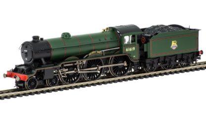 Hornby BR, B17/4 Class, 4-6-0, 61619 'Welbeck Abbey' Early BR Steam Locomotive - Era 4