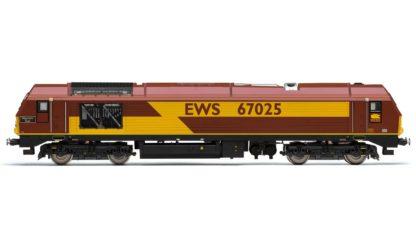 Hornby EWS, Class 67, Bo-Bo, 67025 'Western Star' - Era 10