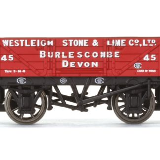 Hornby 4 Plank Wagon, Westleigh Stone & Lime Co. Ltd - Era 3