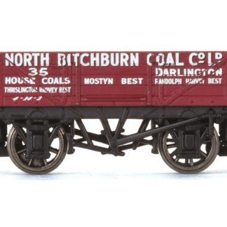 Hornby 4 Plank Wagon, North Bitchburn Coal Co. Ltd - Era 3