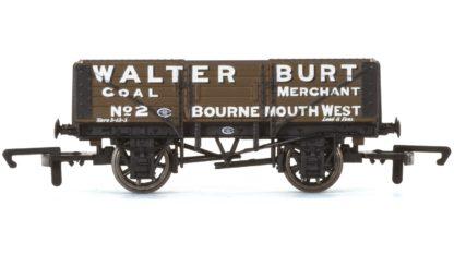 Hornby 5 Plank Wagon, Walter Burt - Era 3