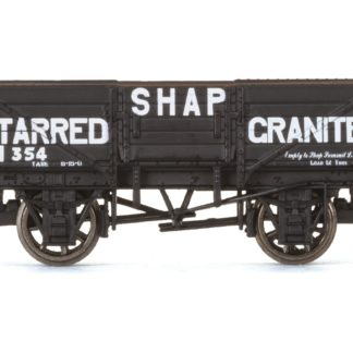 Hornby 5 Plank Wagon, Shap Tarred Granite - Era 3