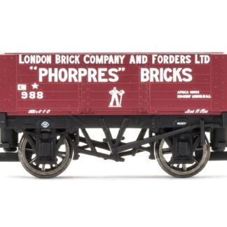 Hornby 6 Plank Wagon, London Brick Company - Era 3