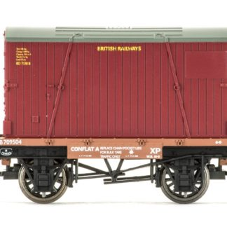 Hornby Conflat A & Container, British Railways - Era 4