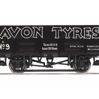 Hornby 21T Mineral Wagon, Avon Tyres - Era 3
