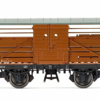 Hornby BR 10t Maunsell Cattle Wagon 'B891313' - Era 4