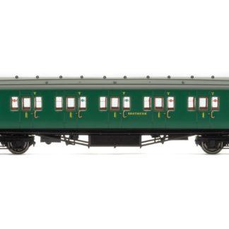 Hornby SR, Maunsell Corridor First Class Coach, 7406 - Era 3