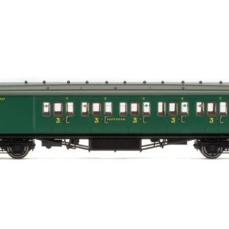 Hornby SR, Maunsell Corridor Brake Third Class Passenger Coach, 3797 'Set 328' - Era 3