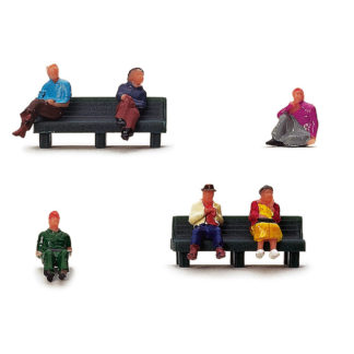 Hornby R7119 Sitting People Pack