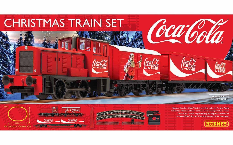 Hornby The Coca Cola Christmas Train Set The Island