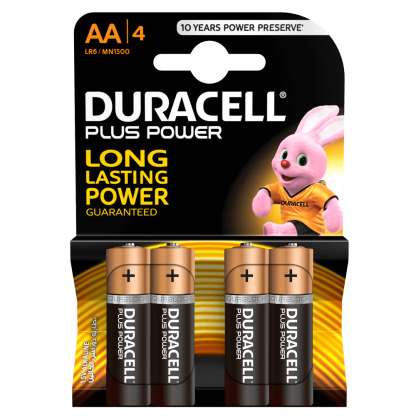 Duracell Plus Power AA batteries