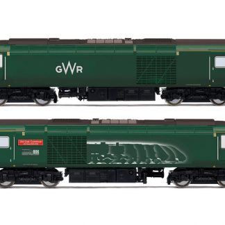 Hornby GWR, Class 43 HST, Power Cars 43093 'Old Oak Common - HST Depot 1976-2018' and 43016 - Era 11
