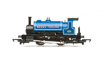 Hornby Beggs Tooling, Class 264 'Pug', 0-4-0ST, 854 Steam Locomotive - Era 3/4