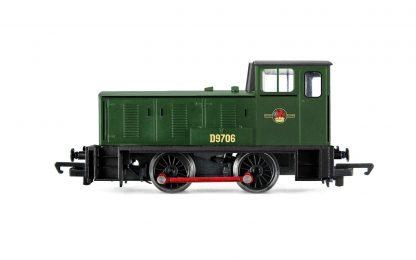 Hornby BR, Bagnall 0-4-0DH, D9706 Diesel Locomotive - Era 6
