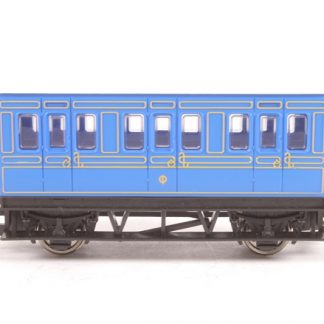 Hornby Blue Four Wheel Passenger Coach