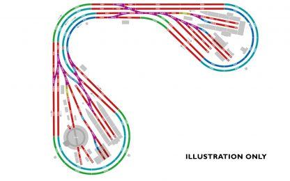 Hornby Large Corner Layout Complete Track