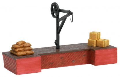 Hornby Loading Stage & Crane